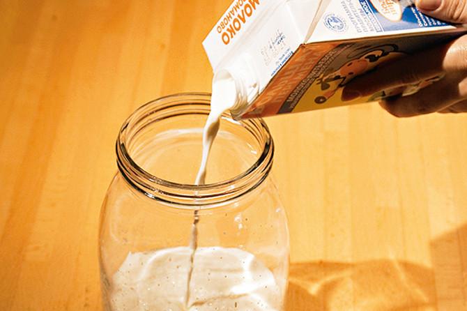 Как из сухого молока сделать сметану в домашних условиях