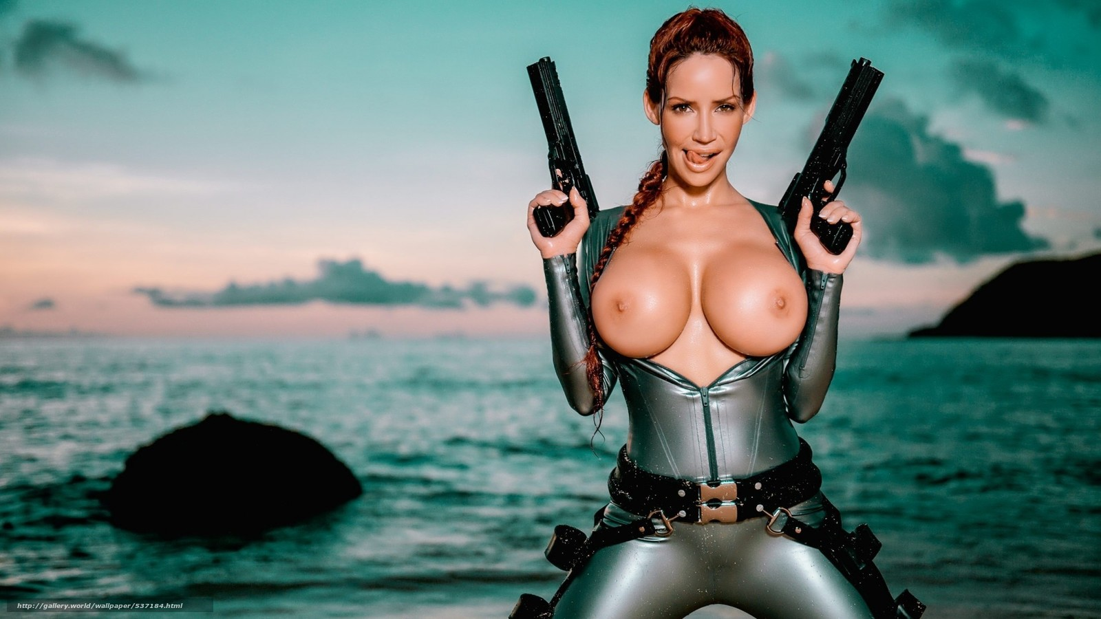 Lara croft wet tits erotic movies