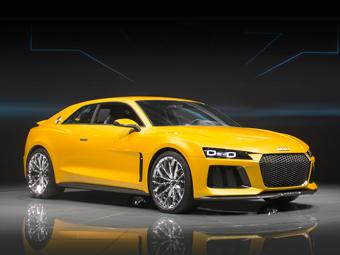 Концепт-кар Audi Sport quattro