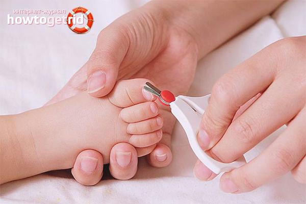 Почему синеют ручки у новорожденного