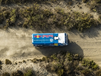 "Грузовик команды ""КАМАЗ-Мастер"". Фото Alberto Lessmann/Red Bull Content Pool"