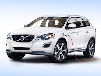 Volvo XC60 Plug-in Hybrid Concept. Фото Volvo