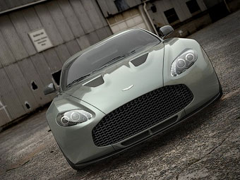 Aston Martin V12 Zagato. Иллюстрация Aston Martin
