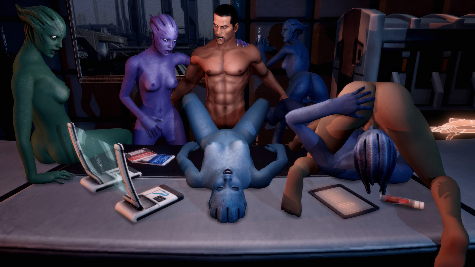 Mass effect sex game nude tube