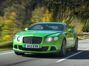 Bentley Continental GT Speed. Фото Bentley