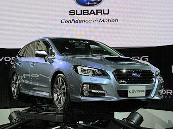 Subaru в Токио показала новый дизайн, новые моторы и новый универсал - Subaru