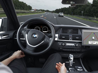В Германии уже готовят первый автобан для беспилотных авто - автопилот