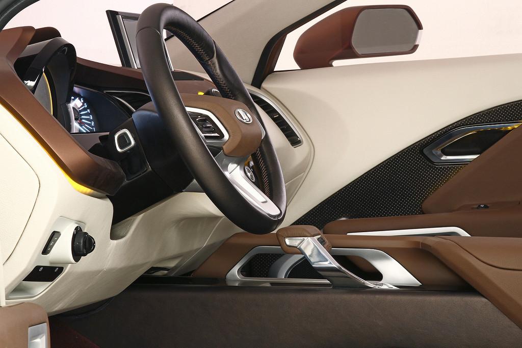 фото концепт-кар Lada XRay.