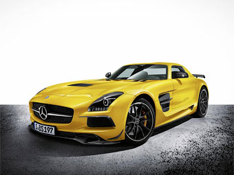 Mercedes-Benz SLS AMG Black Series. Фото Mercedes-Benz