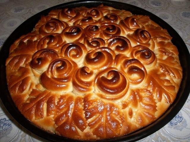Пирог с яблоками вкусный с фото