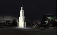 В «Музеоне» появится 12-метровая елка-лабиринт