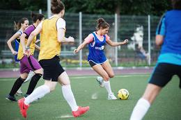 В Москве запускаются тренировки по футбольному фитнесу для женщин