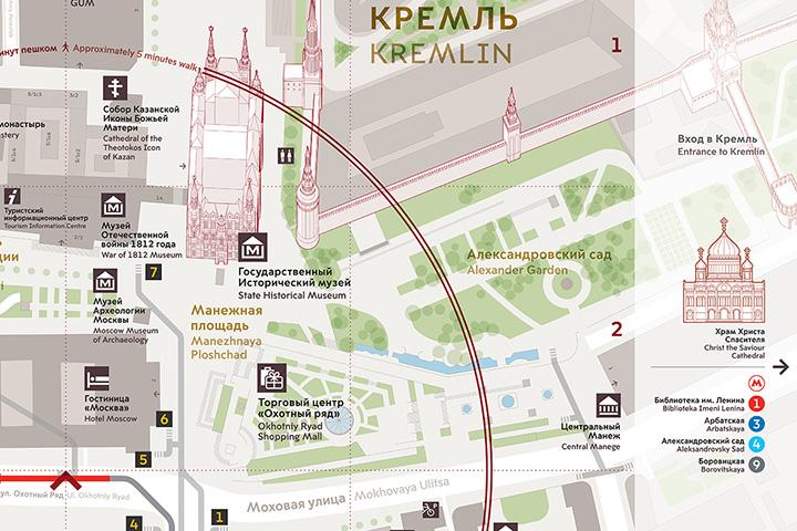 Партизанской карты метро и