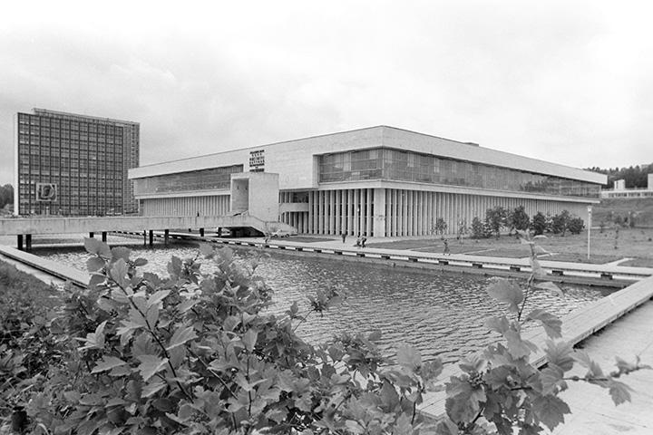 Так библиотека выглядела в 1983 году
