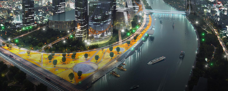 Как будут выглядеть набережные Москвы-реки