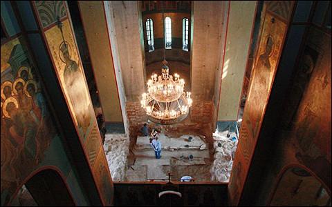 Обретение фресок XII века в Новгороде: самая вдохновляющая история года