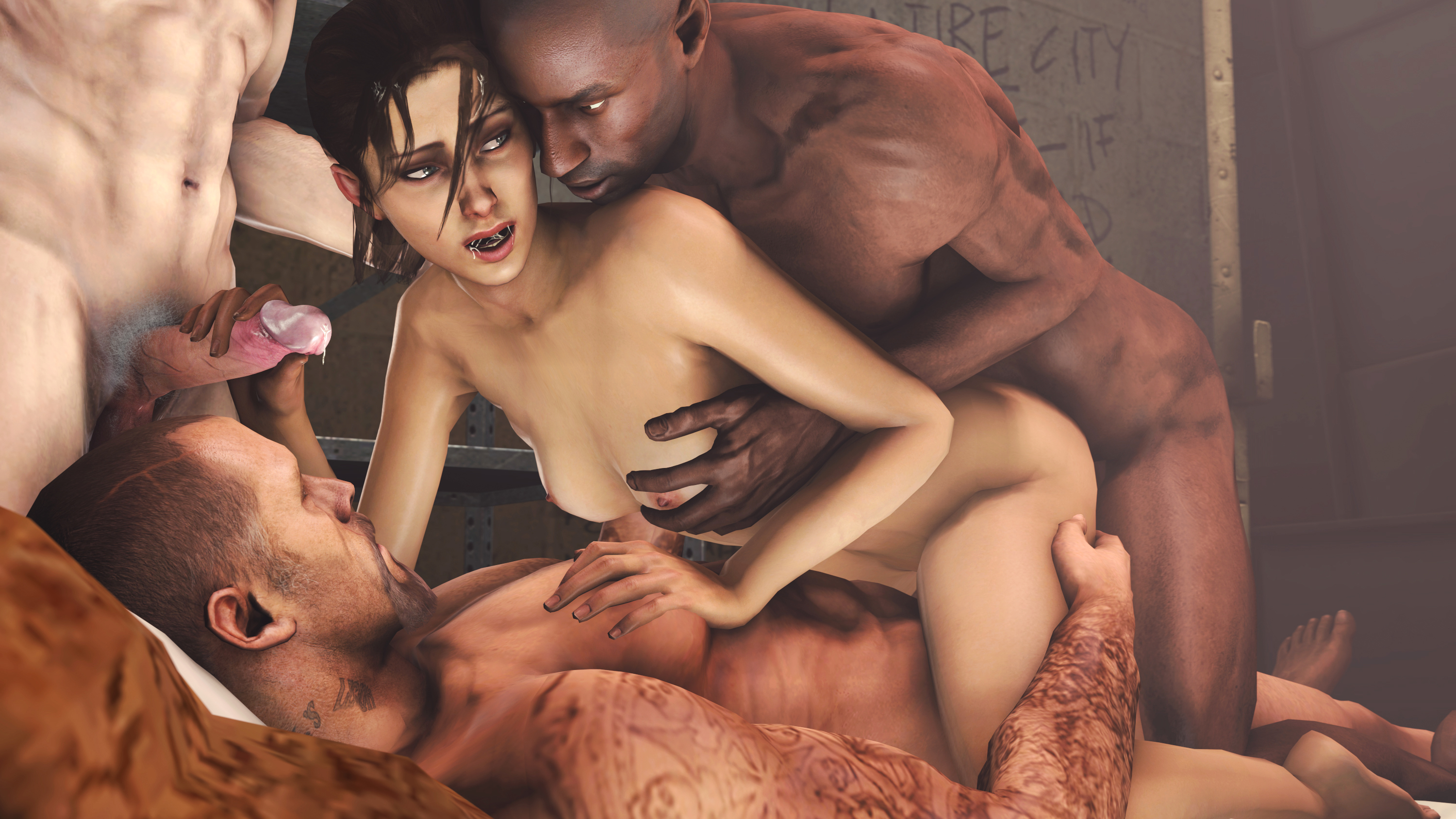 Left for dead naked erotic image