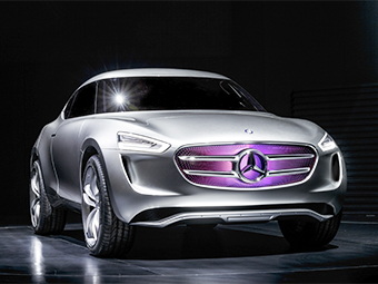 Mercedes-Benz G-Code. Фото Mercedes-Benz