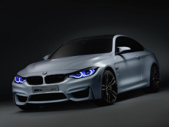 BMW продемонстрировала лазерные фары нового поколения