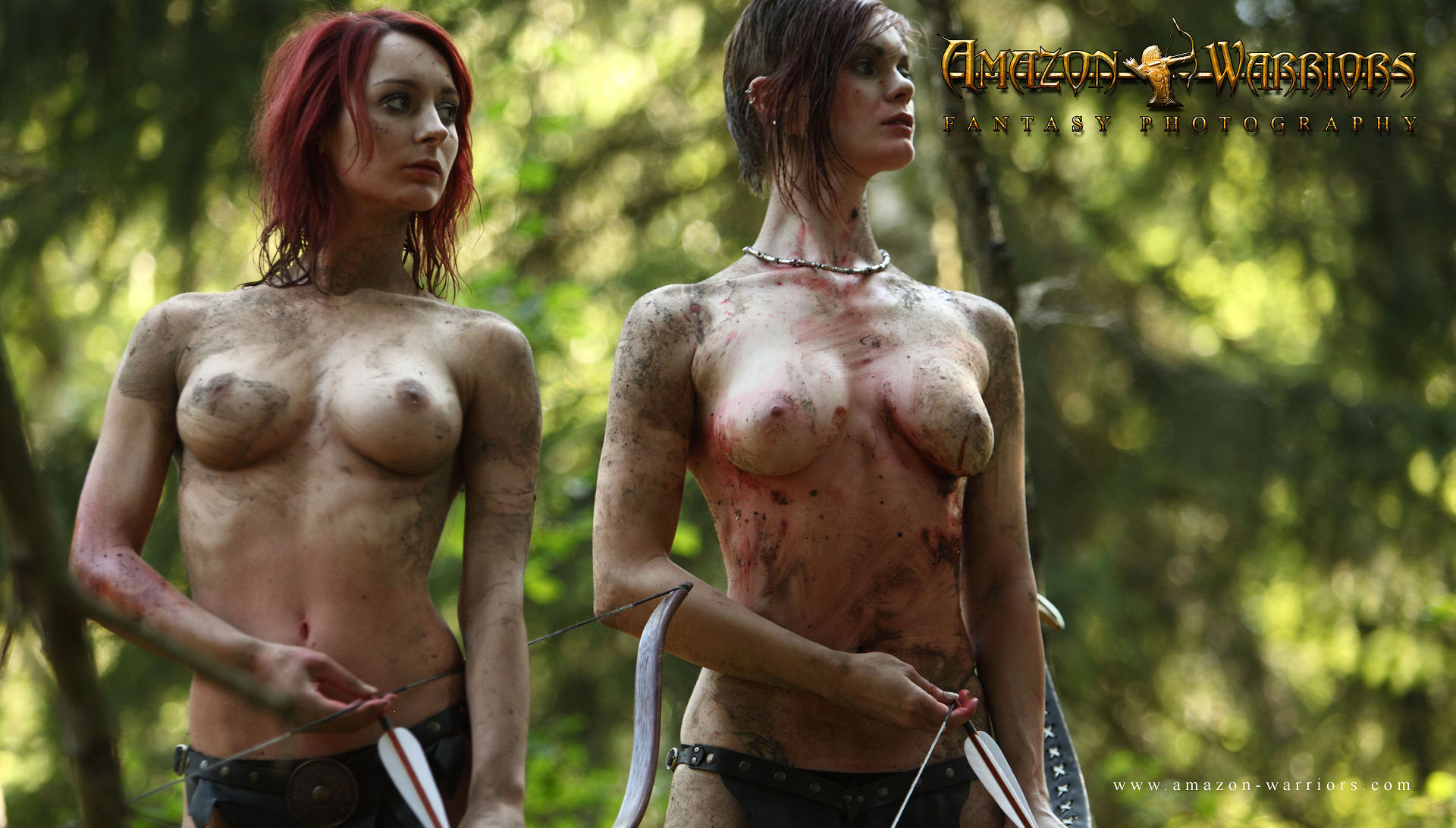 Amazonian warriors porn erotic scene