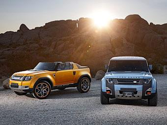 Прототипы нового Land Rover Defender. Фото Land Rover