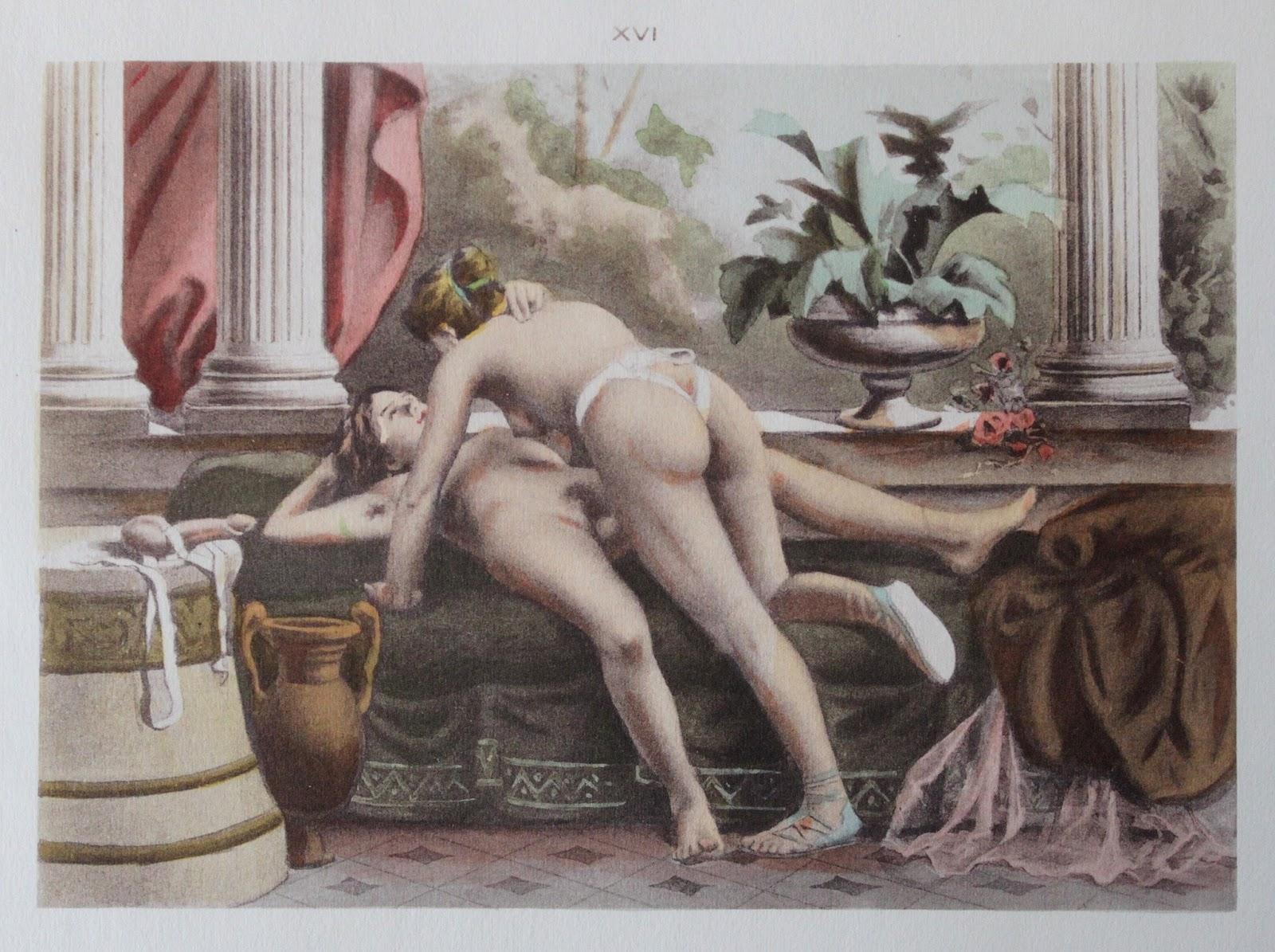 Эротика в художественной литературе