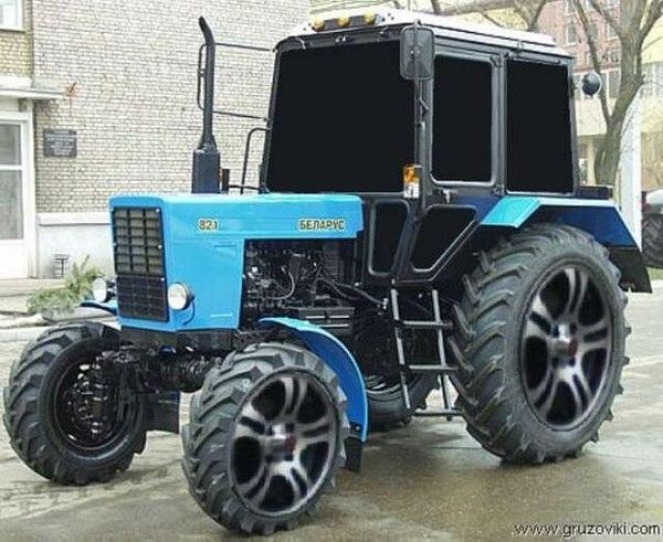 Трактора тюнинг кабины