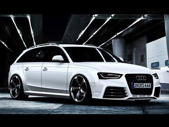 Предполагаемая внешность Audi RS4 Avant. Иллюстрации с сайта autoevolution.com