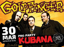 «Pre-party Kubana»: Goldfinger (США)