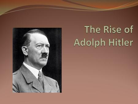 Write my adolf hitler essay