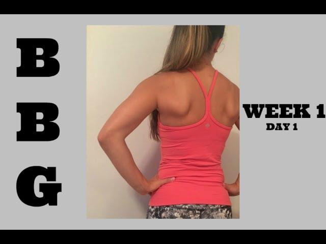 BBG Workout Bikini Body Guide By Kayla Itsines - Home