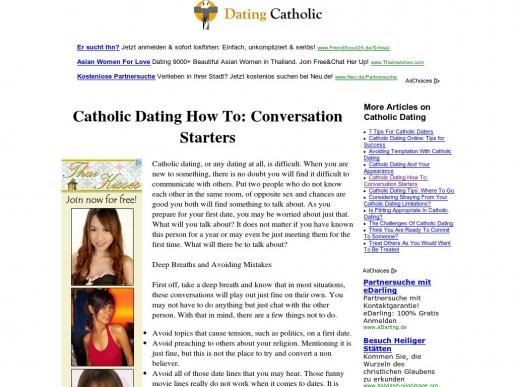Catholic Dating Advice - dtlineklcom