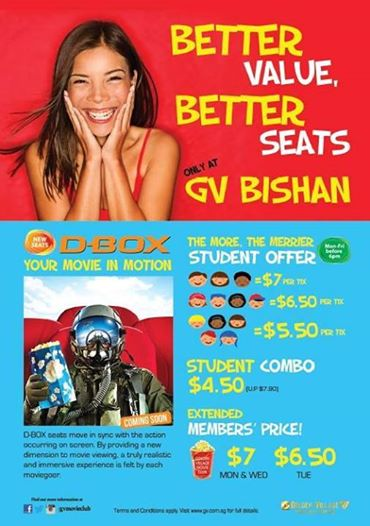 GV Bishan Junction 8 - Movies Showtime Buy Ticket