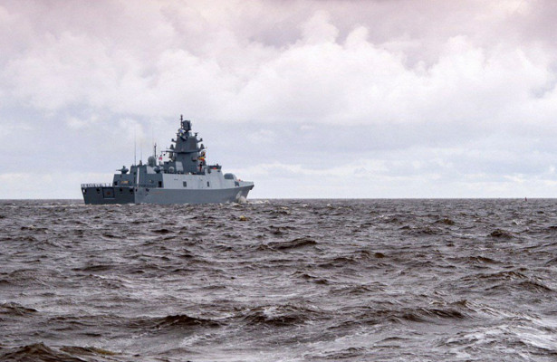 Фрегат «Адмирал Касатонов» вновь вышел вСредиземное море