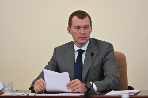 Михаил Дегтярев отменил многомиллионный тендер насвою охрану