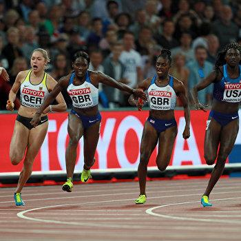 Британцы соскандалом отобрали уУкраины медаль чемпионата мира полегкой атлетике