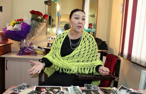 Народная артистка Киргизии послужила прототипом дляпамятника царице