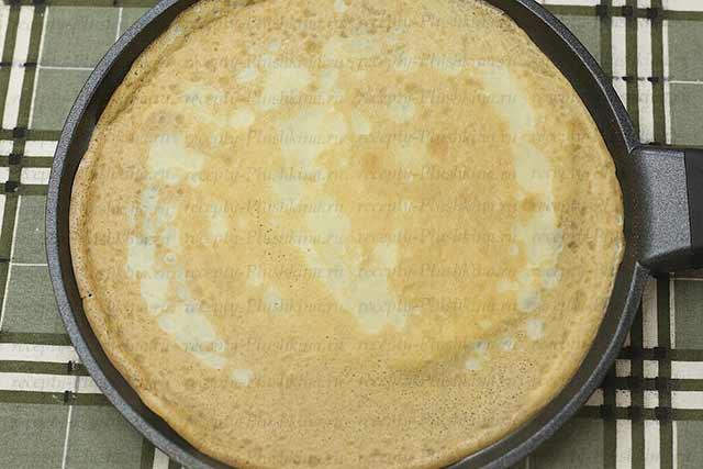 Рецепт блинов на молоке с фото толстые быстро