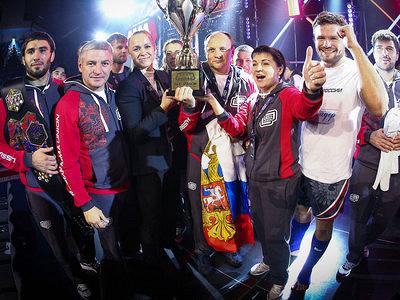 Чемпионат мира поММАзавершился триумфом сборной России