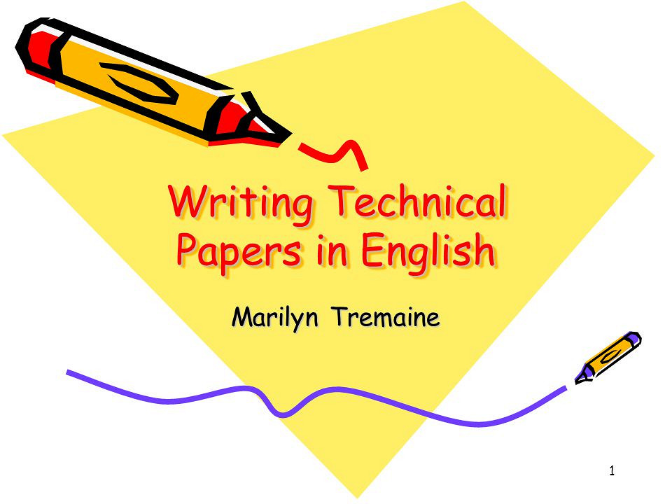 Whitepaper on Technical Writing - TechTotal