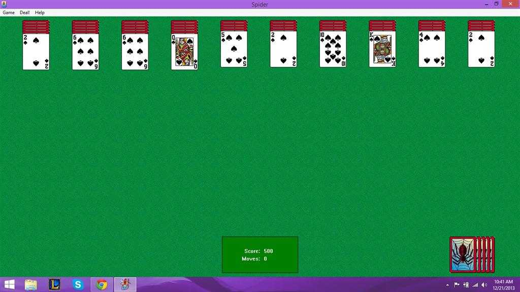 Free Spider Solitaire - Free Download