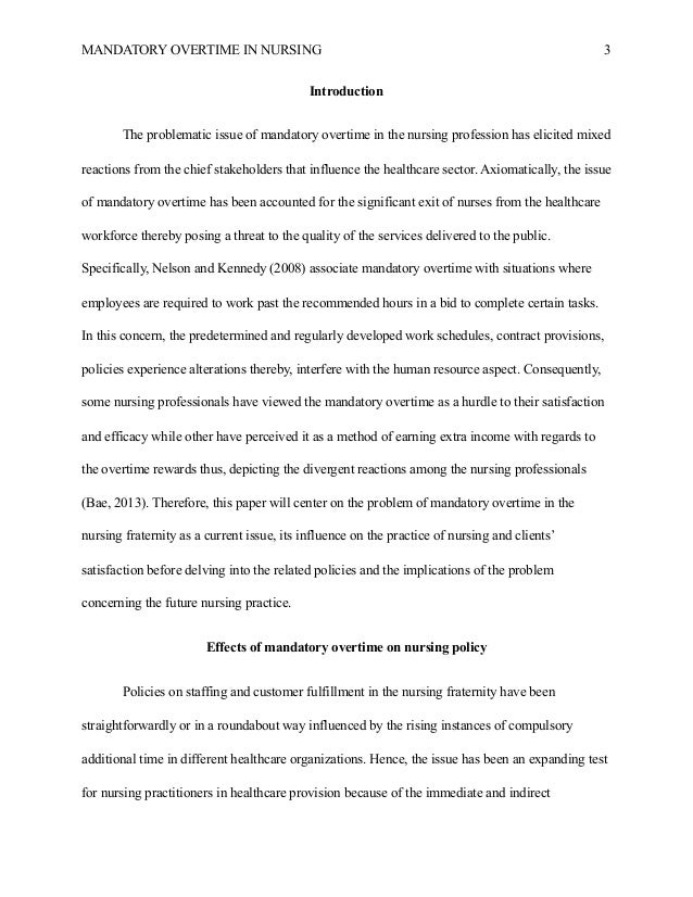 nursing as a profession essay
