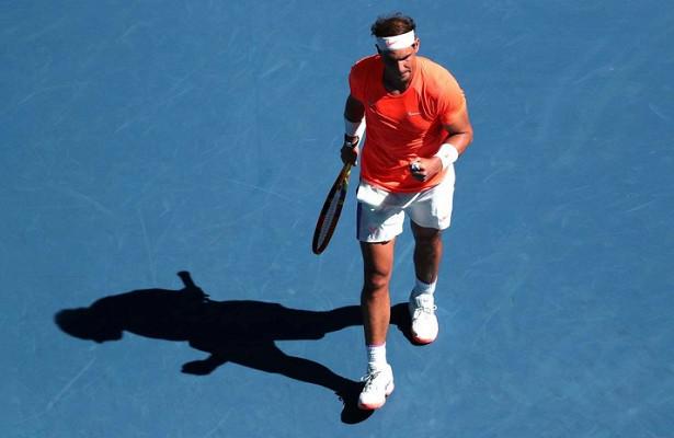 Надаль вышел вовторой круг Australian Open