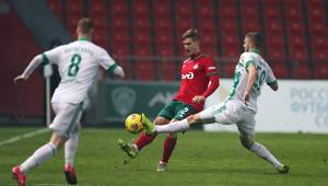 «Локомотив» и«Ахмат» сыграли вничью