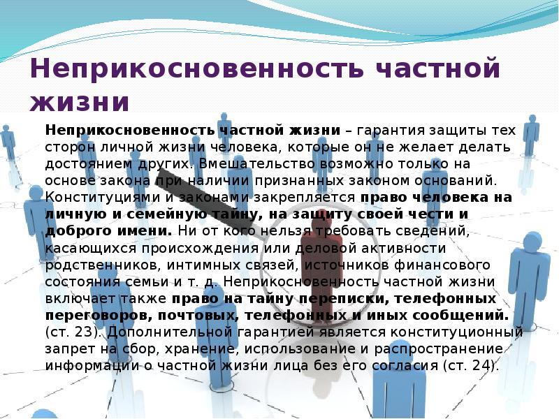 Статья 137 УК РФ Нарушение неприкосновенности