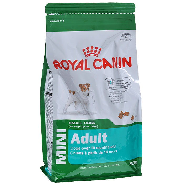 Корм royal mini canin