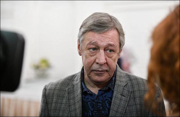 Актера Михаила Ефремова этапировали обратно вколонию Белгородской области