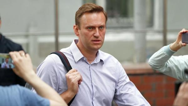 Вквартиру Навального пришли собысками