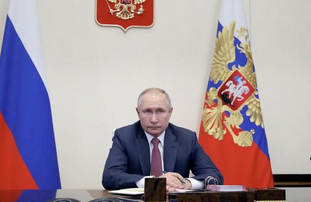 Путин присвоил звания ряду работников прокуратуры