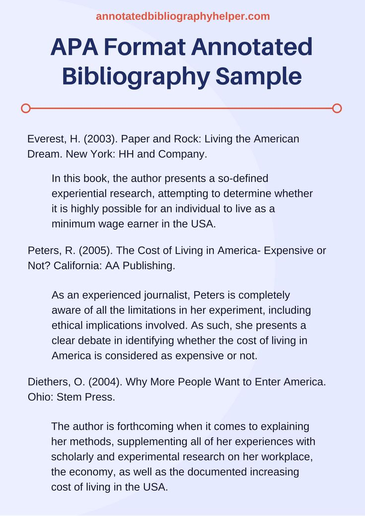How to Write a Bibliography - A Research Guide for Students
